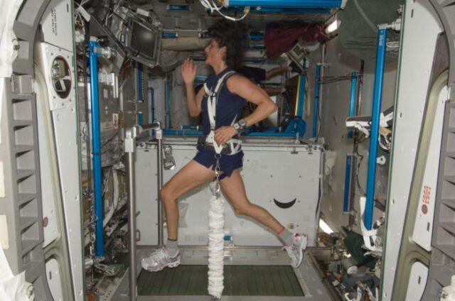 Тренировки в космосе