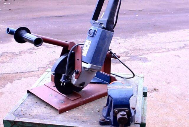 Для изготовления плиткореза отлично подойдет старая болгарка