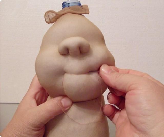 что кукла из поролона своими руками пошаговая сосновеце сделали