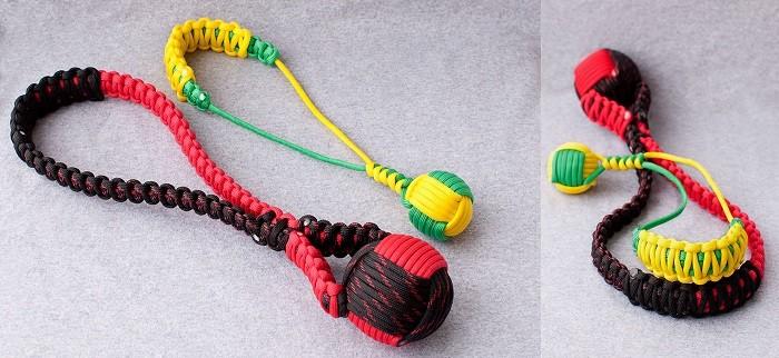 Игрушки для собак из паракорда
