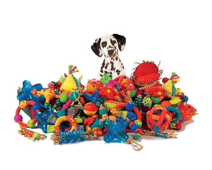 Игрушки для собак очень полезны
